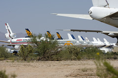 Emery DC-10 at Pinal Air Park (atg3v) Tags: arizona usa tucson cargo scrapyard douglas boneyard airliner emery freighter dc10 mcdonnelldouglas marana pinal pinalairpark mzj emerywordwide