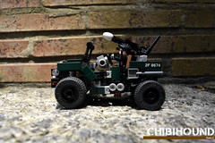 Chibi-Hound Jeep Left (Sam.C MOCs S2 Studios)) Tags: 2016mocs chibiformers s2studios lego transformers hound chibi moc mech robot anime scifi car jeep willymb