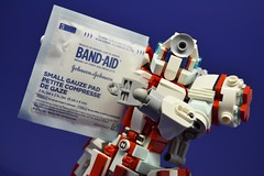 Medic_14 (Shadowgear6335) Tags: red white robot lego system technic medic bionicle moc shadowgear shadowgear6335