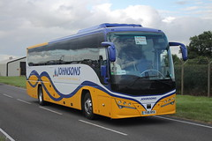 YX16 NYA (LOS) (ANDY'S UK TRANSPORT PAGE) Tags: buses johnsons fairford