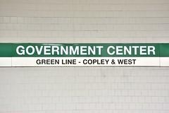 DSC_1524 (billonthehill2001) Tags: boston subway mbta governmentcenter greenline blueline