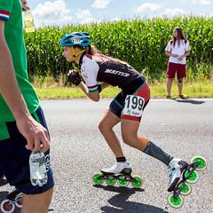 2016-07-30 EK Skeeleren Steenwijk (73a) (Peter Donderwinkel) Tags: ekskeeleren2016steenwijk inlineskating seniorladies junioraladies ek klimvansteenwijk schaatsennl kpn skeeleren outdoor sport event speed race canon