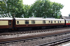 IMGP3953 (Steve Guess) Tags: pulman carriages coaches byfleet station surrey gb uk england newhaw train railway belmond baggage car 11