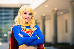 SP_44403 (Patcave) Tags: momocon momocon2016 2016 convention cosplay costumes cosplayers portrait shoot shot canon 1740mm f4 sigma 85mm f14 lens patcave 5d3 atlanta georgia world congress center outdoors hot humid dc comics supergirl maid might