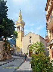 Taormina - Church on Via Cappuccini (Sussexshark) Tags: 2016 may holiday vacanza sicily sicilia taormina church viacappuccini