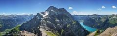 Vorder Glrnisch Panorama (travel and nature photography) Tags: summer panorama mountain lake alps berg schweiz switzerland see mountaineering summit alpen wandern glarus bergsteigen gipfel glrnisch klntal vorder