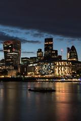 The City of London at Night (gbuckingham89) Tags: cityoflondon london londonnight longexposure morelondon night nightlondon nightphotography riverthames skyscrapers england unitedkingdom gb