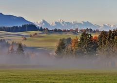 Adrian Vesa Photography (adr.vesa) Tags: nature panorama landscapes forest landscape fog mist nabel morning hills mountains rural villages bavaria bayern germany sunrise