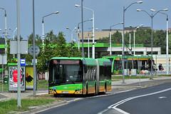Solaris Urbino 18 #1907 MPK Pozna (3x105Na) Tags: solaris urbino 18 1907 mpk pozna mpkpozna tramwaj polska polen poland bus autobus