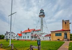 Whitefish Point Lighthouse (Dave Reasons) Tags: lakesuperior lighthouse michigan northamerica unitedstates whitefishpoint paradise