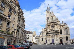 Saint-Étienne-du-Mont (tomosang R32m) Tags: saintétiennedumont églisesaintétiennedumont église church france paris フランス パリ 教会 サンテティエンヌ・デュ・モン教会