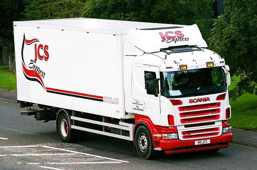 SCANIA - JCS Express Uddingston
