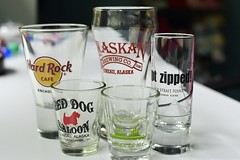 Shot Glasses from Alaska (slgckgc) Tags: garc shotglass