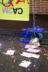TODOS SOMOS COYOTES: TALLER DE VERANO PARA JVENES (CA2M) Tags: select ca2m fiesta party confetti mostoles madrid actividades coyotes familias activities museo museum talleres studio