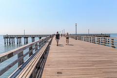 Coney Island (gloriagv) Tags: coneyisland newyork pier sea ocean seascape leadinglines usa ny nyc landscape