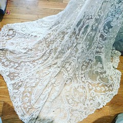 Instagram @paradoxdesignsnyc August 02, 2016 at 02:57PM (paradoxdesignsnyc) Tags: ifttt instagram the most beautiful vintageweddingdress is our atelier now being rebuilt for todays modernbride more come later vintagewedding antiquelace victorian victorianlace trained belleepoch thefinestvintageintheworld museumgrade whitelace whitelacedress vintageforsale