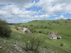 Farm and fields at Vidikovac, Uvac Nature Reserve, Serbia (Paul McClure DC) Tags: uvac naturereserve serbia srbija zlatibor druinie vidikovac sjenica balkans may2016 scenery