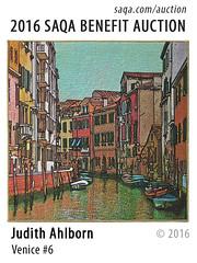 Venice #6 by Judith Ahlborn (saqaart) Tags: artquilts saqa fiberart quilts textiles artwork stitched layered