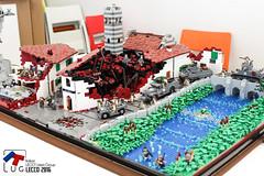 ITLug Lecco 2016 (kr1minal) Tags: lego itlug lecco it italy italia lug afol moc diorama expo wwii worldwar
