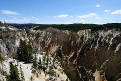 Yellowstone Canyon (YuriZhuck) Tags: us usa wy wayoming nature landscape canyon yellowstone river rock park