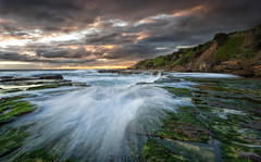 The Storm (EmeraldImaging) Tags: wombarra nsw wollongong sydney australia seascape sunrise clouds storm