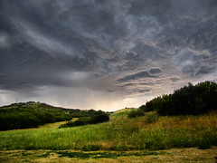 Where my thoughts wander (miss.interpretations) Tags: quiet tranquil nature outdoors storm skies clouds prairie hills grass color serene castlerock colorado