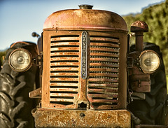 David Brown (p.hakala.p) Tags: davidbrowntractor davidbrown oldtractor oldandrusty