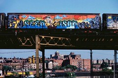 Bronx, 1982. (codedtestament777) Tags: bronx 1982 graffiti art beautiful love life design surreal text bright sign painting writing nature crazy weird fabulous environment cartoon animation outdoor street photo border photoborder illustration collection portrait face expression character