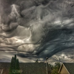 INSTAGRAM 365 Day 241: Thor is angry today (tomas_nilsson) Tags: instagram365 sweden staffanstorp weather cloudscapes weirdweather dramaticsky surreal darkclouds stormy stormyweather thunderclouds rainy hdr patterns shapes cellphonephotography lg g4 snapseed postprocessing