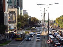 "Solaris Urbino 18III, #A-738, ""Mobilis"" Mociska Dept Warsaw (transport131) Tags: bus autobus mobilis ztm warszawa warsaw solaris urbino"