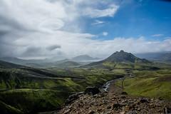 Green Dessert (Philipp Himmelmann) Tags: hiking landmannalaugar iceland island 2016 wanderung wandern gletscher glacier green grn thrsmorck europe geysir mountain volcano berge berg vulkan