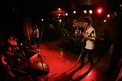 THE CROCK WORKS () Tags: rock live band fisheye sunstorm livehouse livephotography sunash livelife thecrockworks