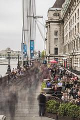 human river (Cranswick852) Tags: longexposure london thames canon crowd southbank canon5d 6862 canon5dmkiii canon5dmk3 ef2470mmf28liiusm