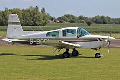 """G-BCPN AA-5 Traveler Sturgate  EGCV Fly In 07-06-15 (PlanecrazyUK) Tags: """"fly in"""" sturgate 070615 egcv gbcpn aa5traveler"""
