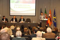 """Ciclo de Conferências """"Estado Social e Demografia"""""""