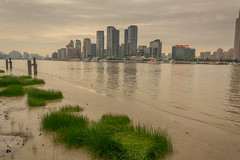 riverside (stevefge) Tags: china shanghai landscape rivers huangpu mud skyline reflections reflectyourworld water