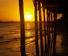 Sunrise Coya Coca (lesleydugmore) Tags: sunrise cuba coyacoca olympus magical peace colour orange gold sun outside outdoor sand beautiful