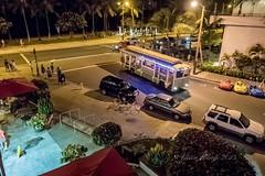 At Tiki's Bar and Grill (Victor Wong (sfe-co2)) Tags: people usa cars bar night dinner corner hawaii nightscape waikiki junction grill vehicle conference honolulu waikikibeach avenue paoakalani tikis kalakaua 2015 pacifichem