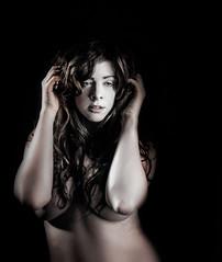 (Glen Parry Photography) Tags: glenparryphotography d7000 female girl model nikon portrait woman studiophotography studio offcameraflash nude artnude models mono