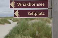 Wegweiser (tj.rade) Tags: amrum campingplatz