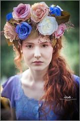 Festa dell'Unicorno (Vinci, Toscana) (BlueMaury) Tags: festadellunicorno vinci cosplay beautifulgirl redhair costume model fantasy