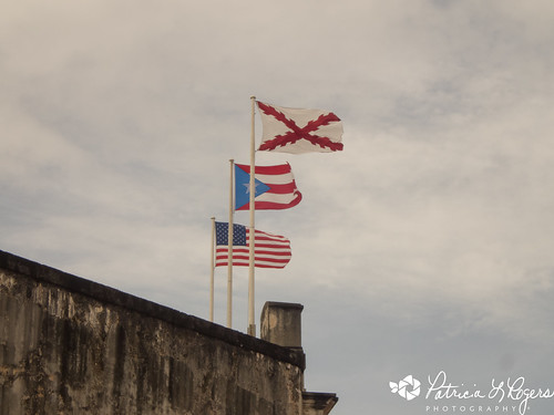 Flags over Castillo San Cristobal