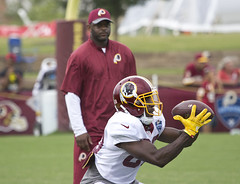 Washington Redskins Richmond Training Camp NFL Football Virginia (watts_photos) Tags: washington redskins richmond training camp nfl football ball catch receiver player sports pro virginia canon
