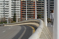 curve (Hayashina) Tags: road valencia fence buildings spain curve hff