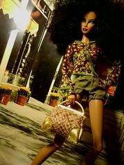 Summer fashion (krixxxmonroe) Tags: ira d ryan krixx monroe styling brown black latino mixed race family fashion royalty live wire mini clone fierce fabulous dramtic diva avant garde dolls