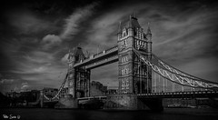 Tower Bridge (Szabo Peter) Tags: canon canon6d cityscape london uk urban tower bridge thames mono monochrome magyarok szabo blackandwhite sigma sigma24105 sigma24105mm