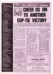 Coventry City vs Grimsby Town - 1973 - Page 3 (The Sky Strikers) Tags: coventry city grimsby town highfield road sky blue official magazine fa cup to wembley 8p