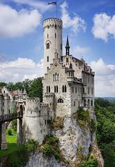 Schlo Lichtenstein (Gnter Hickstein) Tags: gnterhickstein burg schlos uelzen urlaub castle vacation vintage schloslichtenstein schwaben schwbischealb summer sommer