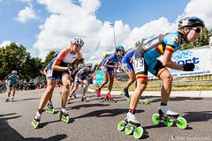 2016-07-30 EK Skeeleren Steenwijk (100a) (Peter Donderwinkel) Tags: ekskeeleren2016steenwijk inlineskating seniorladies junioraladies ek klimvansteenwijk schaatsennl kpn skeeleren outdoor sport event speed race canon