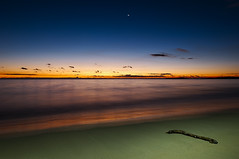 Shoalwater Sunset (Macr1) Tags: 61403327236 australia beach camera coast conditions d700 default dusk filter geography landscape lee lens location markmcintosh nd nikon nikond700 ocean outdoor pcenikkor24mmf35ded sea shore subject sunset wa water westernaustralia macr237gmailcom markmcintosh shoalwater aus vlife 15000lumens lightpainting